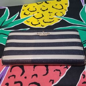 Kate Spade Cedar Street Stripe Lacey Wallet